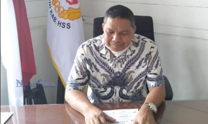 Plt Ketua Umum KONI Kabupaten HSS